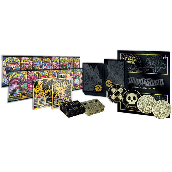 Pokemon Zacian & Zamazenta Ultra Premium Collection Box