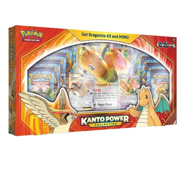 Pokemon Kanto Power Collection Dragonite EX Box