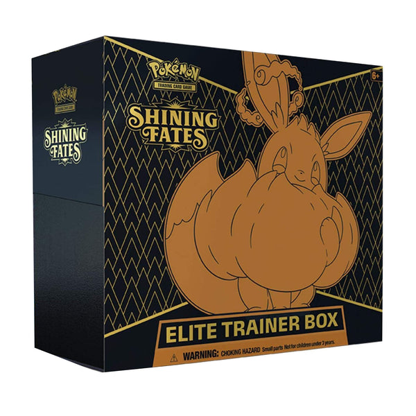 Pokemon Shining Fates (Glänzendes Schicksal) Elite Trainer Box