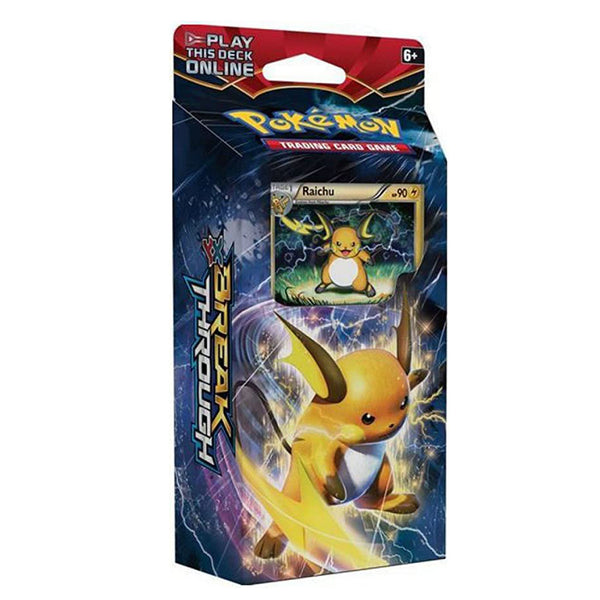 Pokemon XY-BREAKthrough Burning Spark Raichu Theme Deck