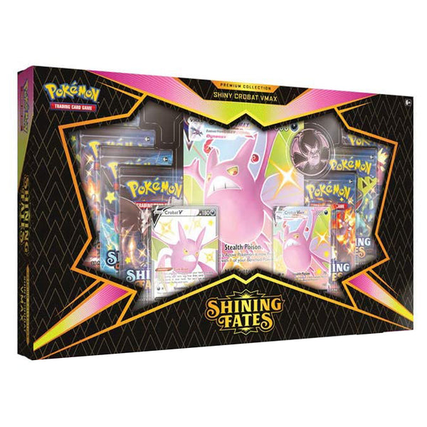 Shining Fates Premium Collection Shiny Crobat VMAX Box (Glänzendes Schicksal)