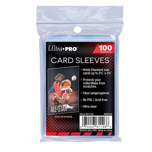 Ultra Pro Card Sleeves 100er Pack