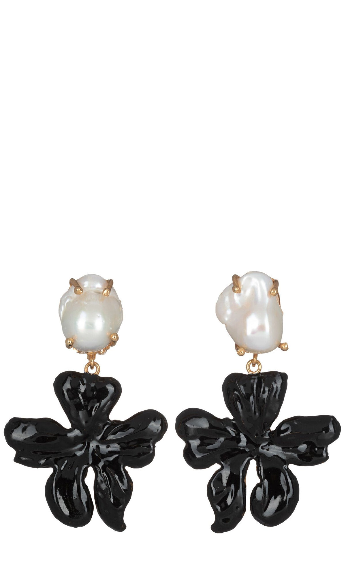 Christie Nicolaides Elisabetta Earrings - Black - HOSS