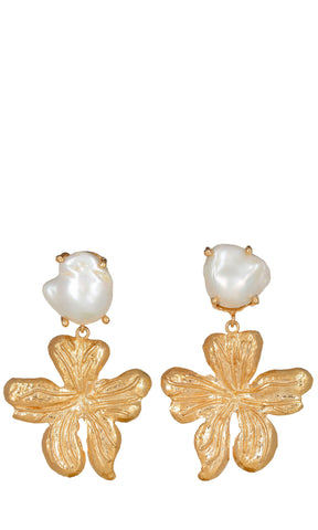 Christie Nicolaides Elisabetta Earrings - Gold - HOSS