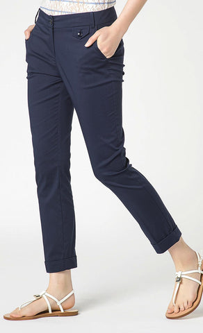 Patrizia Pepe Slim Fit Trouser - HOSS  - 1