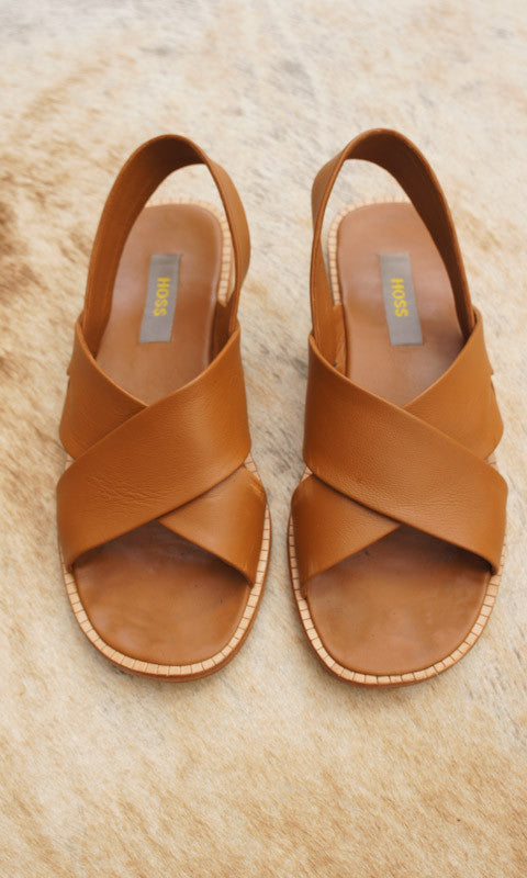 HOSS Alex Sandals - Tan - HOSS