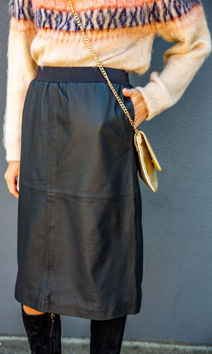 Hoss Leather Kells Skirt