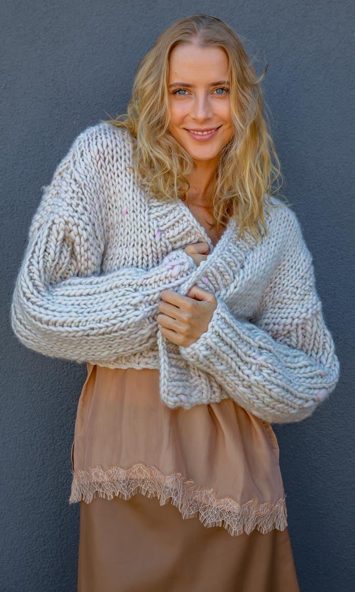 MAROSTICA Hand Knitted Cardigan