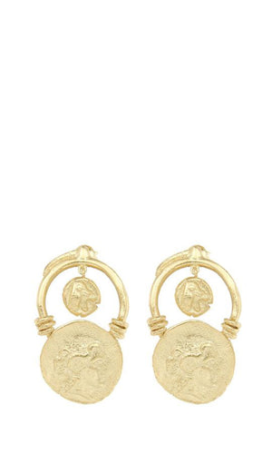 Cleopatra's Bling - Moneta Earrings