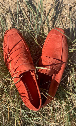Conflict of Interest - Suede Loafer Ochre