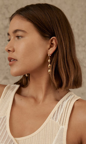 Brie Leon Neeva Triple Drop Earrings