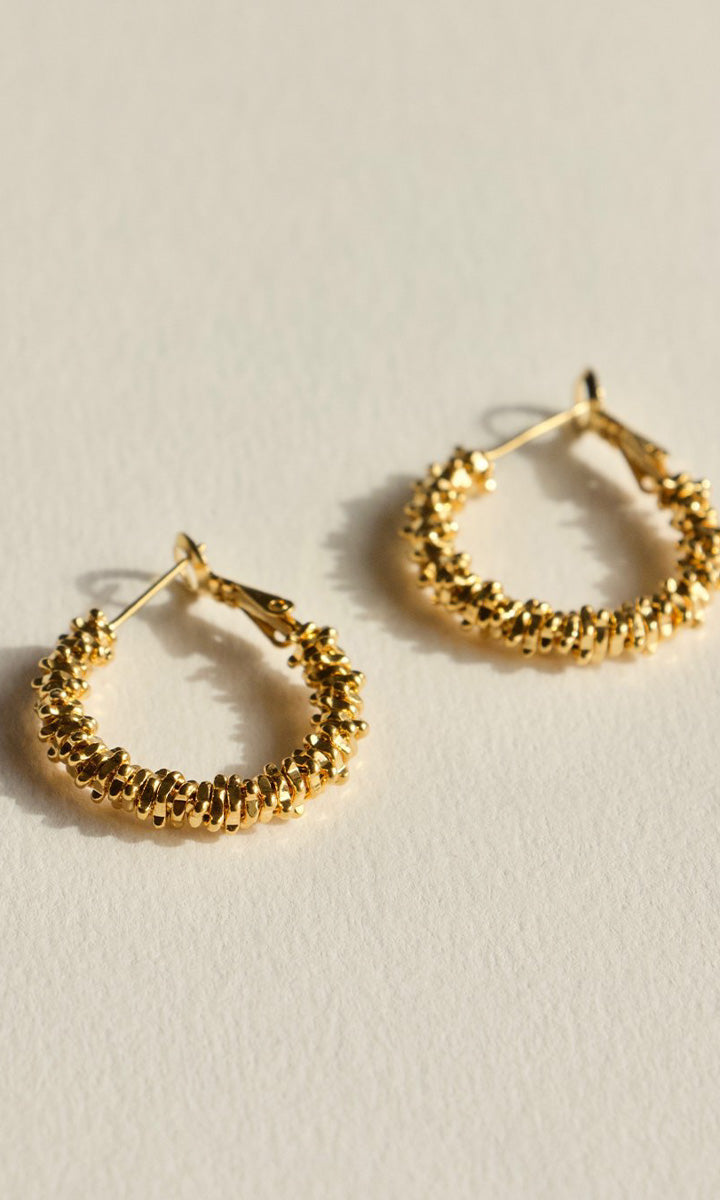 Brie Leon Zoe Stack Hoop Earrings