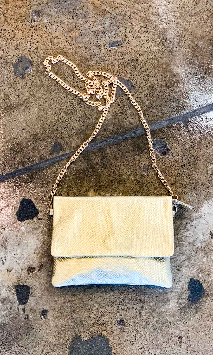 Hoss Pale Gold Emily Bag