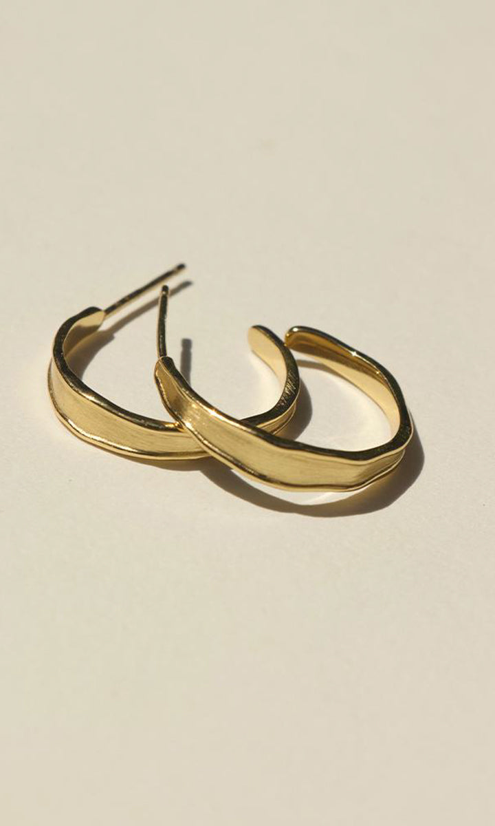 Brie Leon Quinn Stud Hoop Earrings
