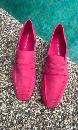 Conflict of Interest - Suede Loafer Pink