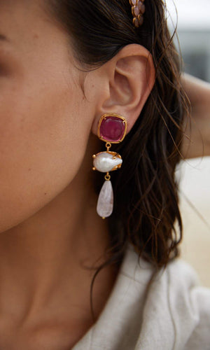 Christie Nicolaides Eva Earrings
