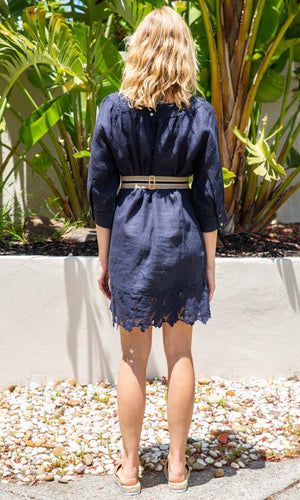 Hoss Lino Linen Dress - HOSS