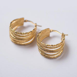 Brie Leon Multi Swing Earrings - HOSS