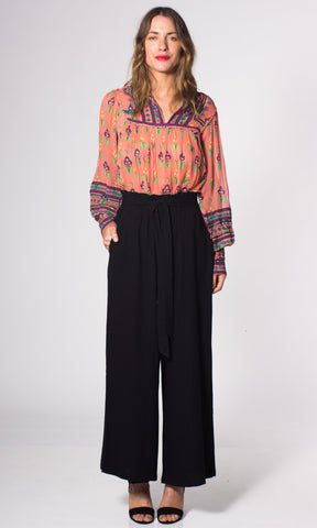 Hoss Linen High Waist Trouser
