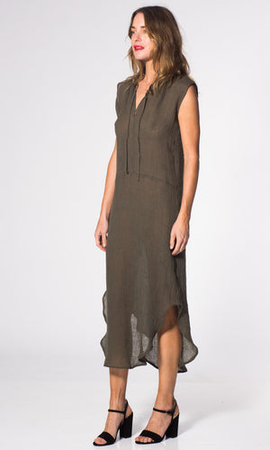 HOSS Estonia Linen Dress - HOSS