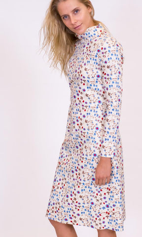 Hoss Julie Christie Dress -  Blue Floral