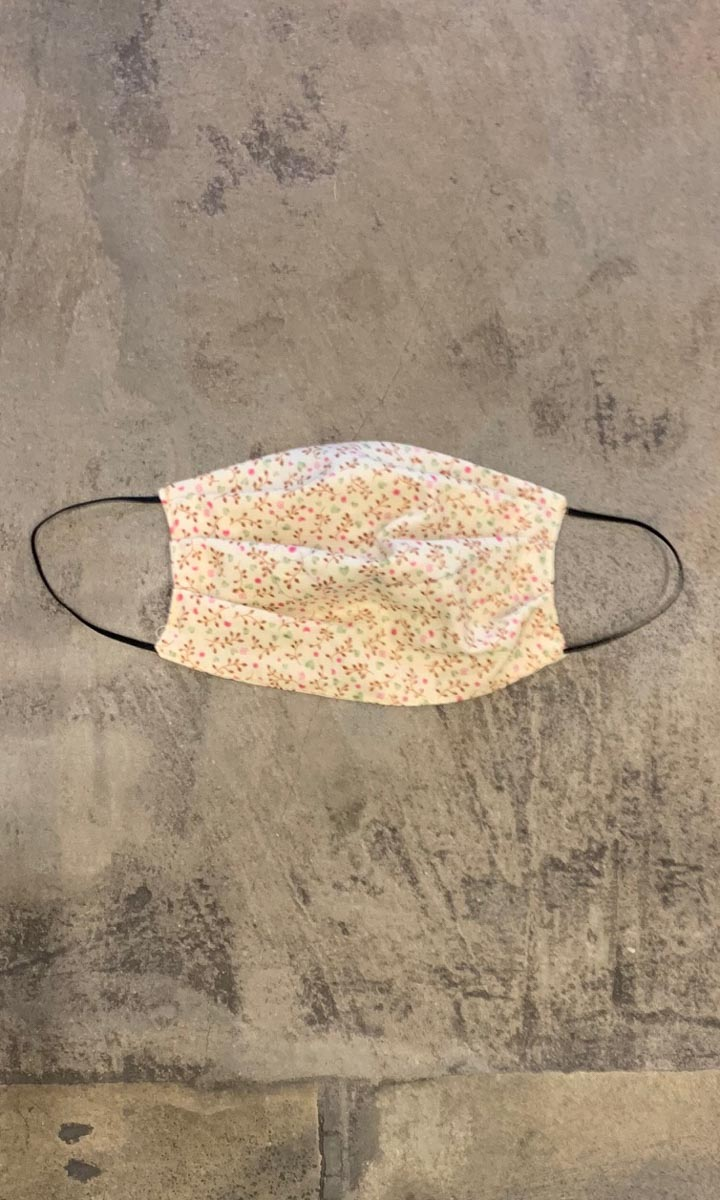 MASK 20  - Micro Floral Cotton