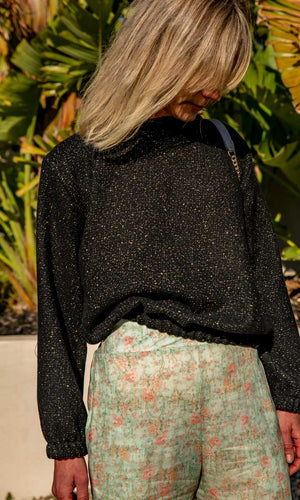 HOSS Gold Leaf Juli Jumper
