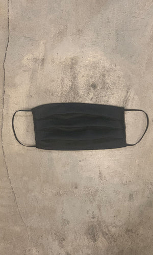 MASK 39 -  Soft  Black Linen
