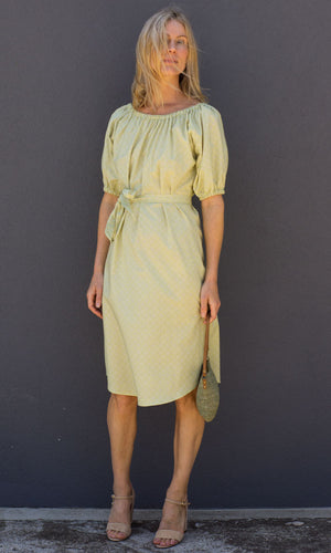 HOSS Mimi Dress - Greens - HOSS