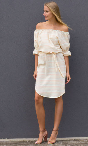 Hoss Neme Dress - Soret Stripe - HOSS
