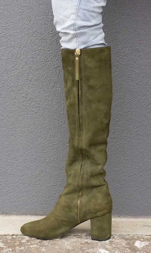 Hoss Faithful boot - Olive Green - HOSS