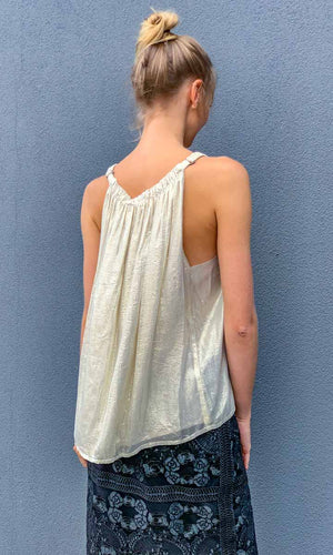 HOSS  Pale Gold Louise Top