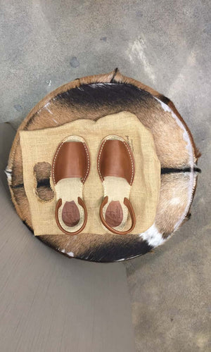 Importante Sandals - Tan - HOSS