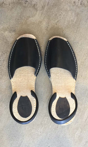 Importante Sandals - Black - HOSS