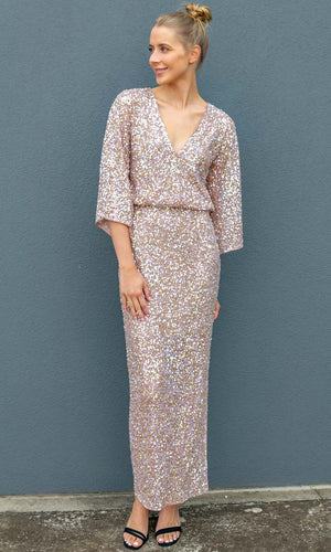 Notes Du Nord Beaded Gown