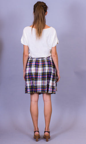 Leon check skirt - HOSS