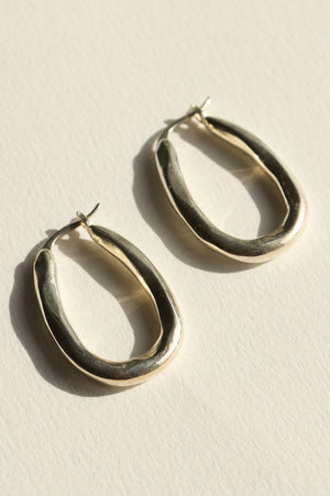 Brie Leon Organica Bent Hoop Earrings