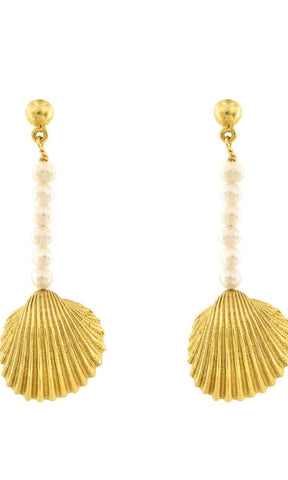 Cleopatra's Bling - Aphrodite Charm Earrings - HOSS