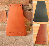 Detroit Cargo Leather Fender Flap