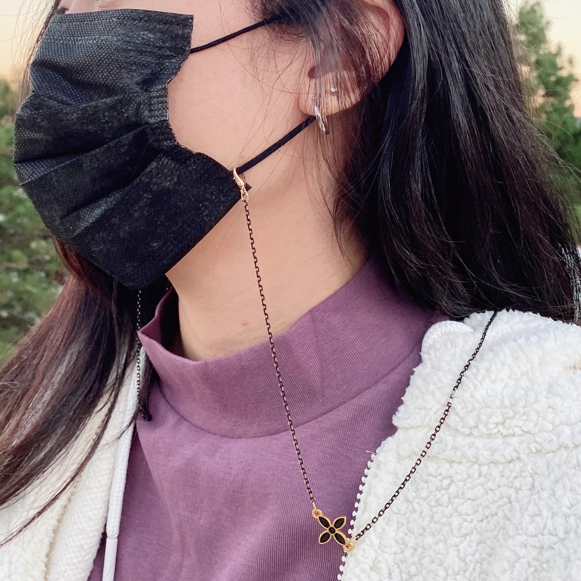 Mask Chain Onyx/Gold