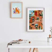 Load image into Gallery viewer, A4 Poster - Feline Kingdom
