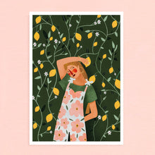 Load image into Gallery viewer, A4 Poster - Lemonade
