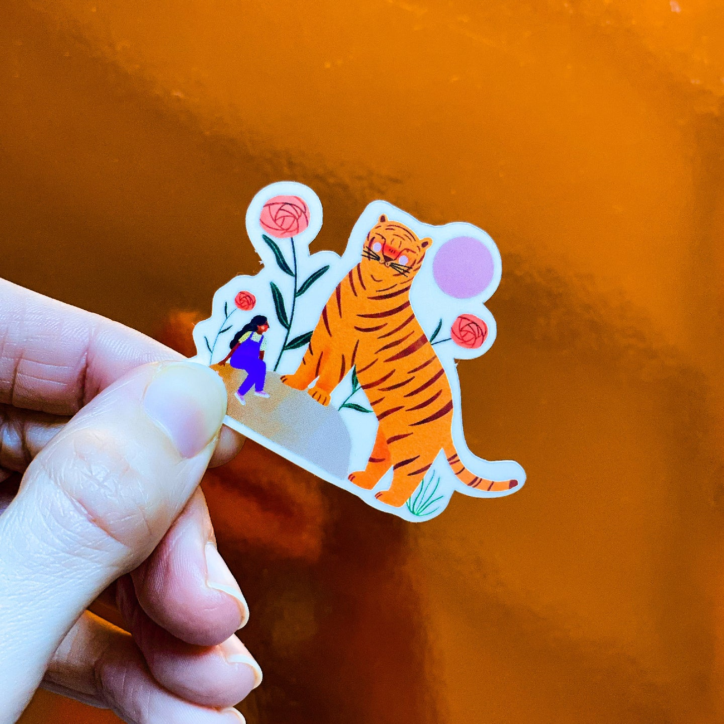Sticker - Giant tiger