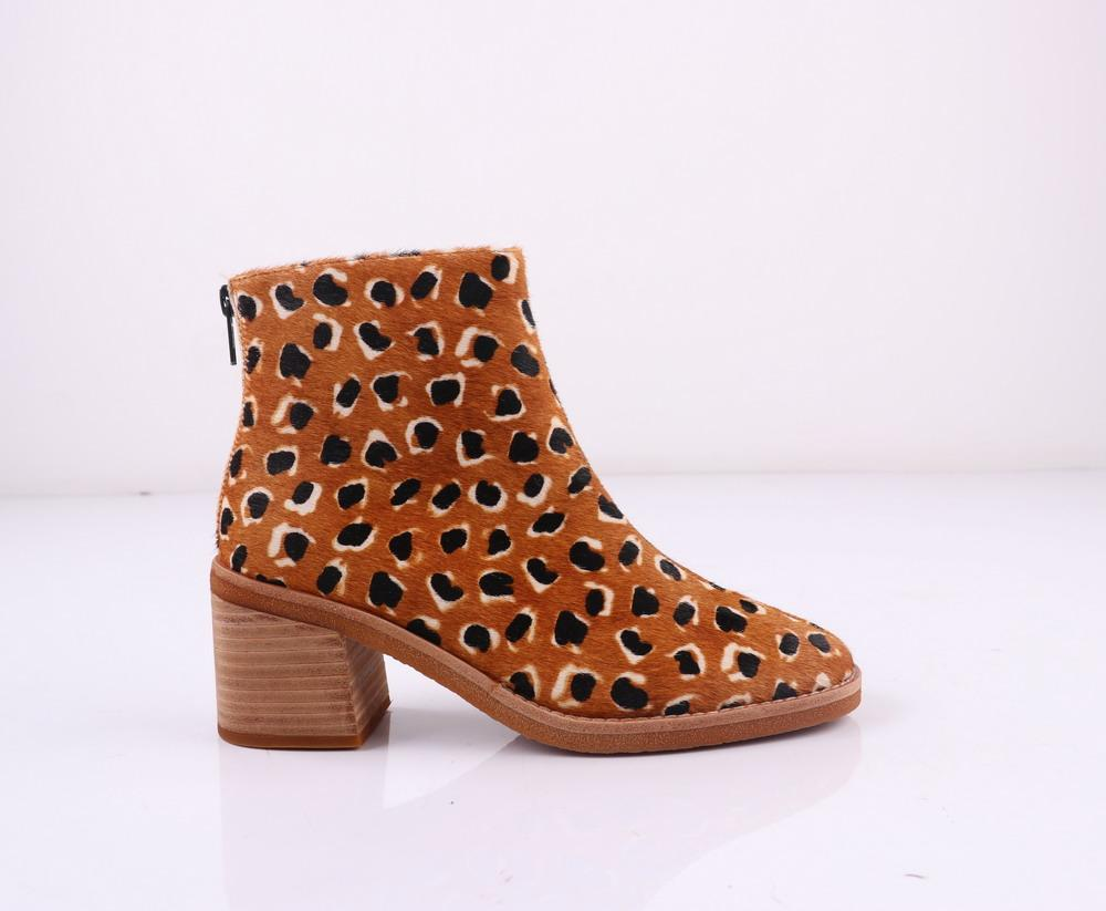 Intentionally Blank Dalton Boot - Tan Cheetah Shoes - Sloane Boutique