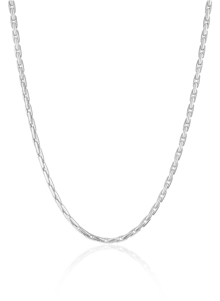 Jenny Bird Constance Chain - High Polish Silver Jewelry - Sloane Boutique