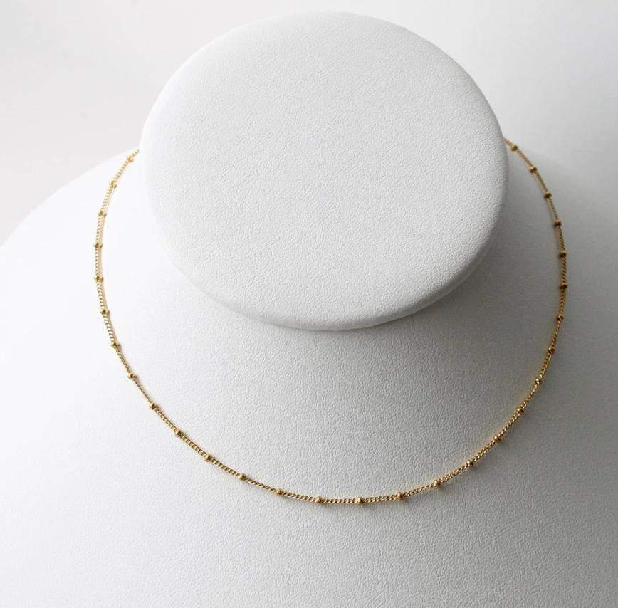 Little Hawk Satellite Choker - Gold Jewelry - Sloane Boutique
