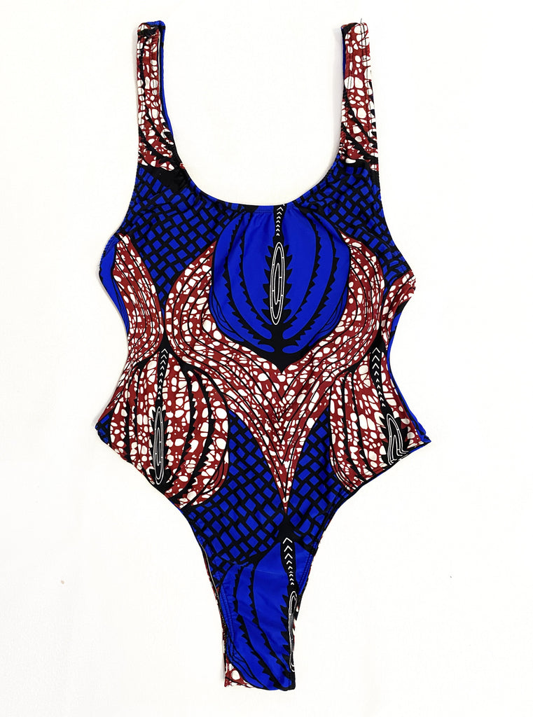 ankara one piece bodysuit leotard african swimwear swimsuit bathing suit