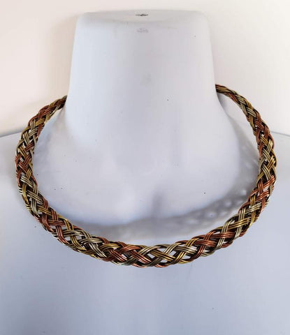 Nduta - Copper Brass and Iron Torc