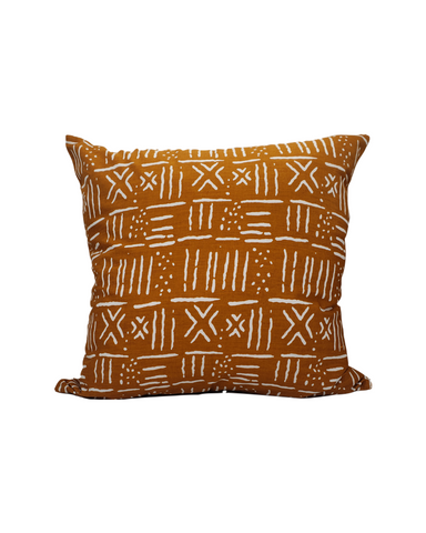 Kwadwo V- Rust Mud Cloth Print Cushion