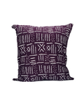 Kwadwo III- Purple Mud Cloth Print Cushion